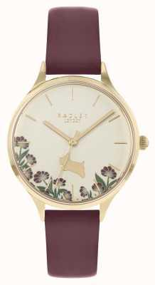 Radley Women's Cream Floral Dial Watch RY21278