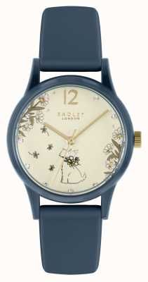 Radley Women's Blue Plastic and Silicone Watch RY21286