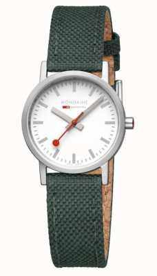 Mondaine Classic Modern Park Green Watch A658.30323.17SBS