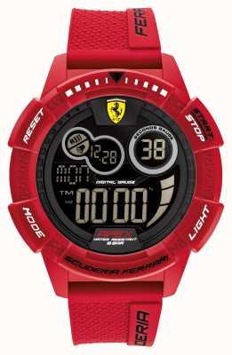 Scuderia Ferrari Apex Superfast Red Silicone Strap 0830857