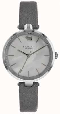 Radley Womens | St. Dunstans | Mother Of Pearl Dial | Grey Leather RY2549
