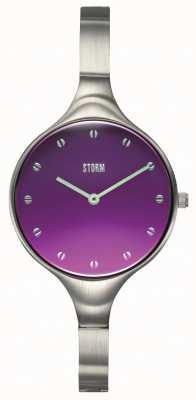STORM Women's Olenie Purple Crystal Watch 47505/P