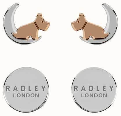 Radley Jewellery Fashion   Sterling Silver Dog&Moon Earring Set RYJ1211S