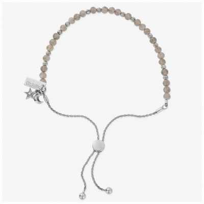 ChloBo Magic Aura Labradorite Silver Adjustable Bracelet SBAL31783028