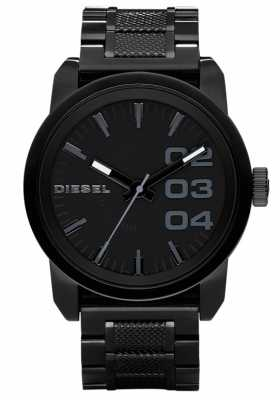 Diesel Mens Black Steel Bracelet Watch DZ1371