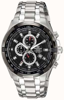 Casio Men's Edifice Stainless Steel Black Dial Chronograph EF-539D-1AVEF