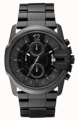 Diesel Mens All Black Chronograph Watch DZ4180