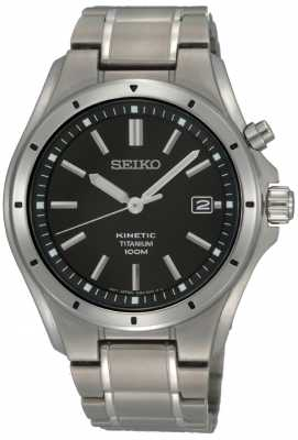 Seiko Mens Titanium Kinetic SKA493P1
