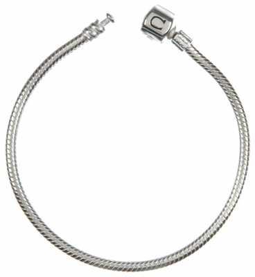 Chamilia Silver Snap Bracelet (20.1 cm/7.9 in) BA-4