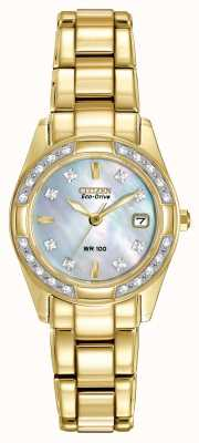 Citizen Womens Regent 28 Diamonds EW1822-52D