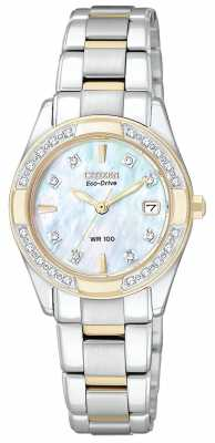 Citizen Womens Regent 28 Diamonds EW1824-57D