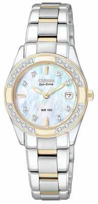Citizen Womens Regent 28 Diamonds EW1824-57D
