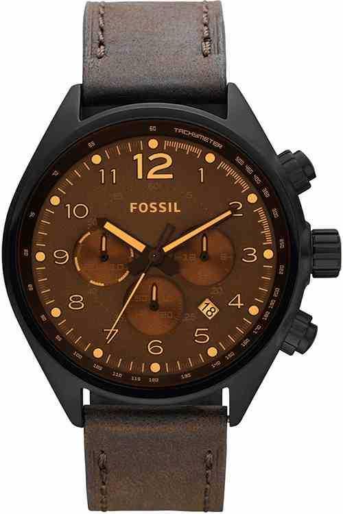 Fossil Mens Brown Chronograph Fashion CH2782