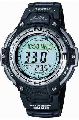 Casio Mens Pro-Trek Alarm Chronograph SGW-100-1VEF