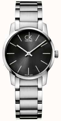 Calvin Klein City Womens Stainless Steel Case K2G23161
