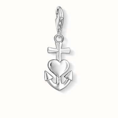 Thomas Sabo Faith Love Hope Charm 925 Sterling Silver 0083-001-12