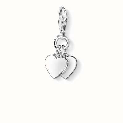 Thomas Sabo Hearts Charm 925 Sterling Silver 0836-001-12