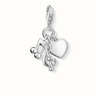 Thomas Sabo Love Music Charm 925 Sterling Silver 0854-001-12