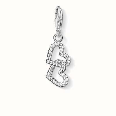 Thomas Sabo Hearts Charm 925 Sterling Silver 0872-001-12