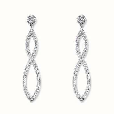 Thomas Sabo Earstuds White 925 Sterling Silver/ Zirconia H1831-051-14