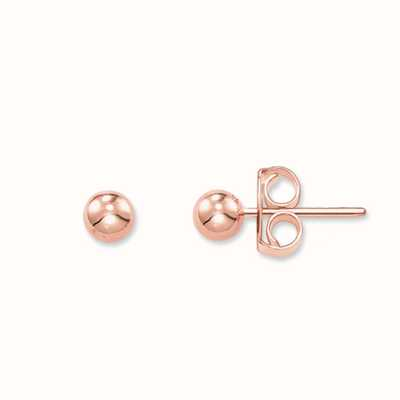 Thomas Sabo Earstuds 925 Sterling Silver Gold Plated Rose Gold H1845-415-12