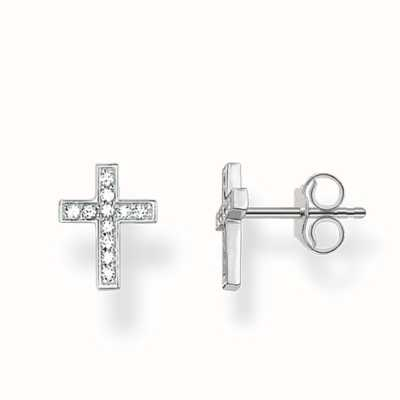 Thomas Sabo Earstuds White 925 Sterling Silver/ Zirconia H1880-051-14