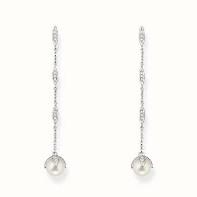 Thomas Sabo Earstuds White 925 Sterling Silver/ Freshwater Pearl/ Zirconia H1901-167-14