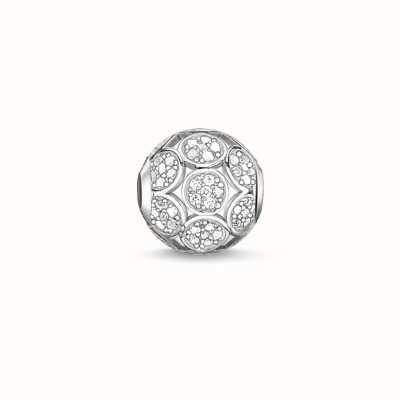 Thomas Sabo Sparkling Circles White 925 Sterling Silver/ Zirconia K0147-051-14
