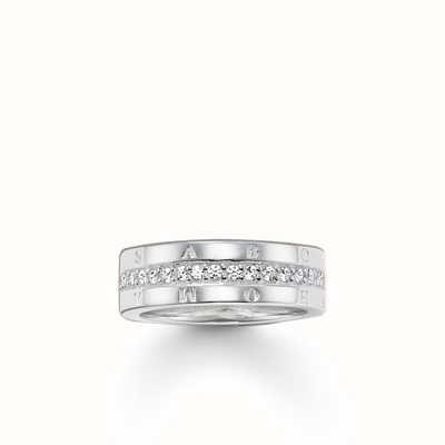 Thomas Sabo Ring White 925 Sterling Silver/ Zirconia TR1701-051-14-54