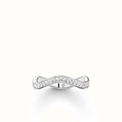 Thomas Sabo Ring White 925 Sterling Silver/ Zirconia TR2010-051-14-54