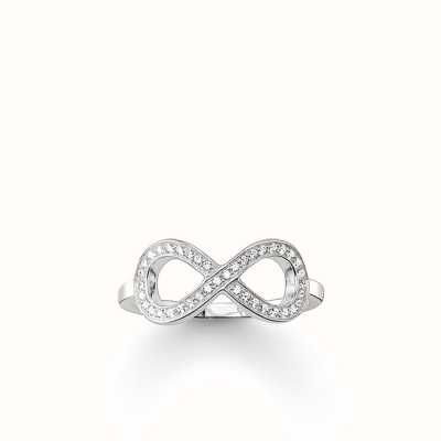Thomas Sabo Ring White 925 Sterling Silver/ Zirconia TR2014-051-14-54