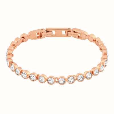 Swarovski Tennis | Rose-Gold Plated | White | Ladies Bracelet 5039938
