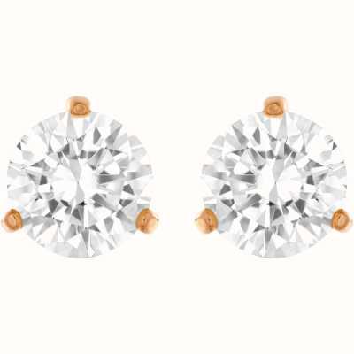 Swarovski Solitare |White |  Rose-Gold Plated | Studded Earrings 5112156