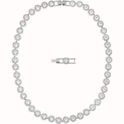 Swarovski Angelic | Rhodium Plated |White | Ladies Necklace 5117703