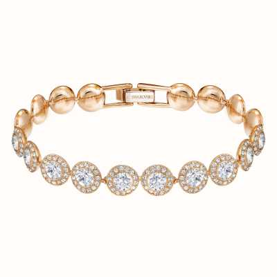 Swarovski | Angelic | Rhodium Plated | RoseGold Tone | White |Bracelet 5240513