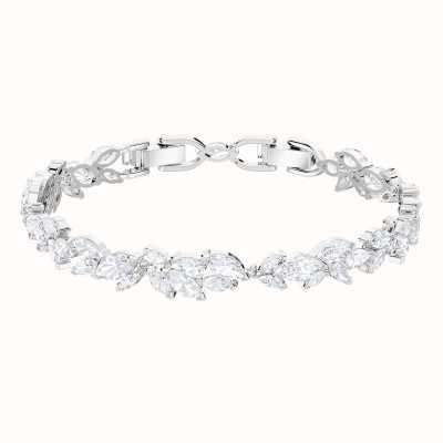 Swarovski Louison | Rhodium Plated | White | Glamorous | Bracelet 5419244