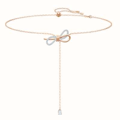 Swarovski Lifelong| Mixed Metal Finish |White | Y Necklace 5447082