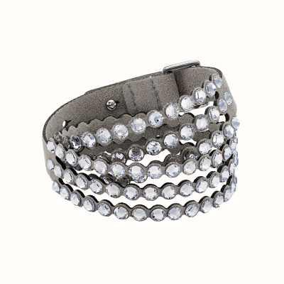 Swarovski Power | Grey | Double Wrap |Bracelet 5511698