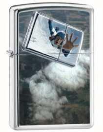 Zippo Skydiver High Polish Chrome ZIPPO-24348
