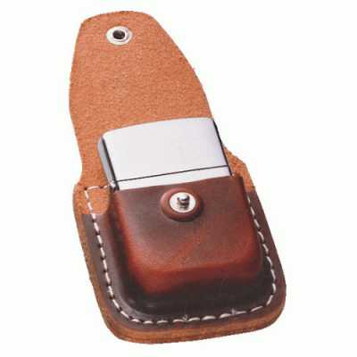 Zippo Lighter Pouch Brown with Clip ZIPPO-LPCB