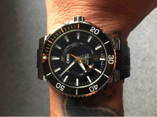Oris Staghorn Restoration Limited Edition Rubber Strap 01