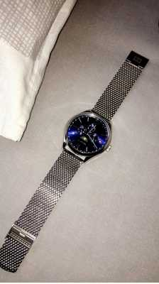 4586ae8eaefed Customer picture of Tommy Hilfiger Mens Oliver Stainless Steel Mesh  Bracelet Blue Dial 1791302 Absolutely fantastic watch.