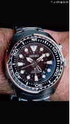 Customer picture of Seiko Prospex Kinetic GMT SUN019P1