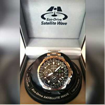 ec1976bed99 Customer picture of Citizen Promaster Navihawk GPS Stainless Steel  CC9030-51E