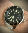 Customer picture of Seiko Prospex Divers Recreation Black Dial Automatic Watch SPB051J1