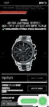 Customer picture of Seiko Mens Astron GPS Solar Titanium Two Tone Dual-Time Black Dial SSH011J1