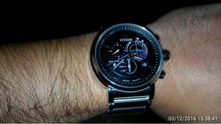 Customer picture of Citizen Mens Proximity Bluetooth Smartwatch Eco-Drive  BZ1000-54E 63f60ed471