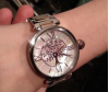 Customer picture of Thomas Sabo Womens Glam And Soul Karma Watch Rose Gold And Silver WA0315-272-213-38